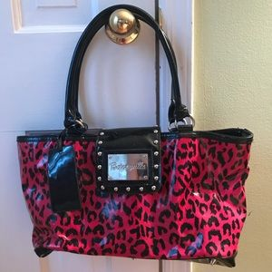 Patent Leather Betsy Johnson Bag